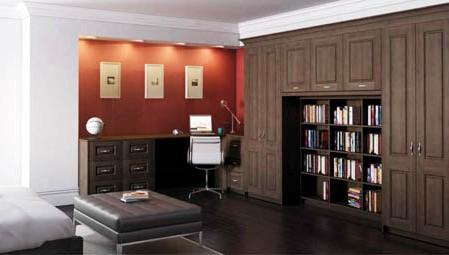 Mahogany Study Doors